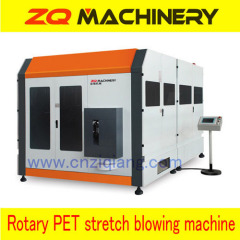 rotary pet stretch blow molding machine