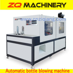 Hand feeding stretch blow moulding machine
