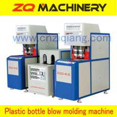 semi-automatic pet stretch blow molding machine