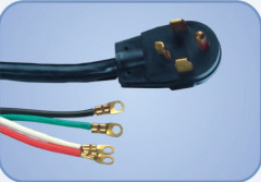 3-pole 4-wire Dryer Cord 14-30A