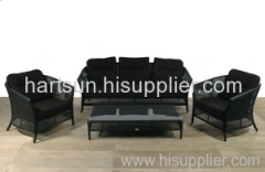Garden furniture rattan sofa set