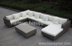 PE rattan sofa set garden furniture
