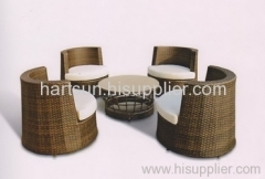 Wicker sofa set rattan garden furniture