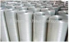 Galvanised welded mesh