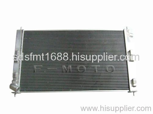 high performance racing car radiator for MITSUBISHI EVO