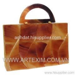 Buffalo Horn Handbag, evening Handbag, Shoulder Handbag, handmade handbag, fashion handbag