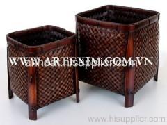 Bamboo basket, Bamboo Weaving basket, Bamboo box, Bamboo hamper