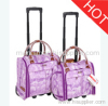 fashionable carry-on luggage set
