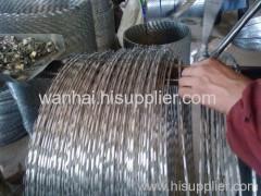 ホット亜鉛メッキレーザーワイヤー供給