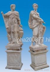 Greek /roman style statue of Hannibal