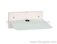 Clear Tempered Glass DVD Player Mounts