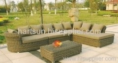 Patio sofa set rattan garden furniture