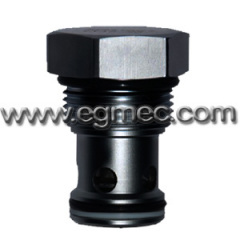 Cartridge Direct Acting Poppet Check Valve