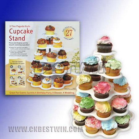 27 holder cupcake stand