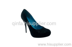 ROUNDED TOE PUMP