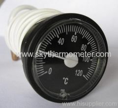 long capillary boiler thermometers