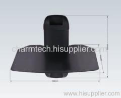 New Design Black Tempered Glass DVD Player Mount