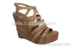 Fashion Multi-Strap Wedge Sandals