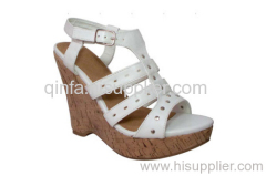 GLADIATOR WEDGE SHOE