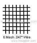 6 mesh square wire cloth