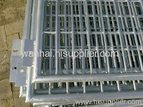 frame welded mesh fence