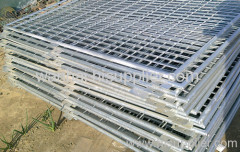 hot dipped galvanized weled mesh fence