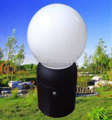 mobile LED with infrared sensor