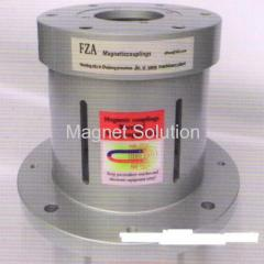 Hydraulic pump magnetic couplings