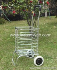Wheels Aluminium Shopping Cart