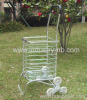3wheels Aluminium Shopping Basket