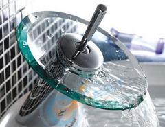 waterfall wash basin mixer
