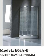 Framed model safety shower room