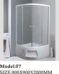 anti-slip acryl tray shower room