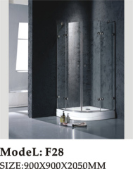 high quality of stainles steel frame shower room