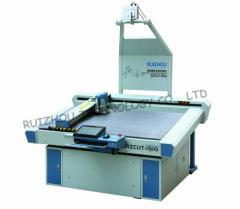 Digital leather cutting system