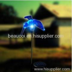 humming bird solar garden light