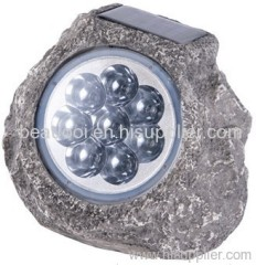 high power solar stone light