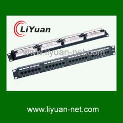 12 port fiber network patch panel