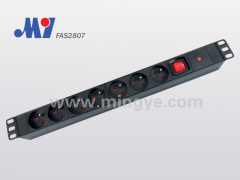 French PDU with VDE16A plug