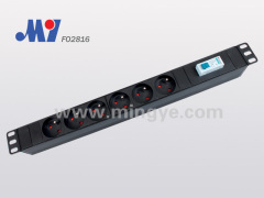Safety French PDU socket