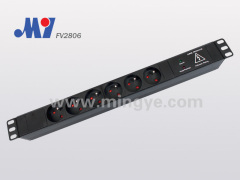 19″ French PDU socket