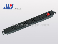 U.S. PDU with Aluminium alloy shell