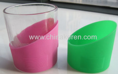 silicone pink cup cover