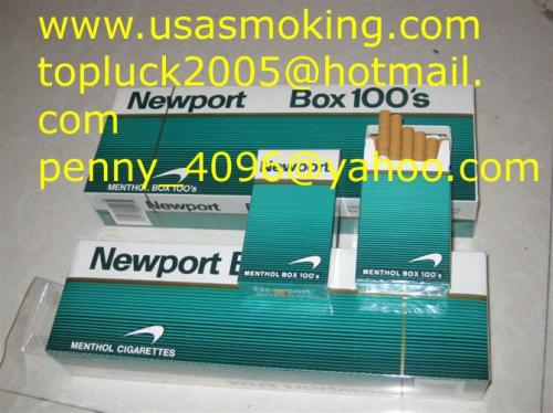 newport menthols box 100s cigarettes from China manufacturer