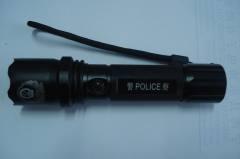 3 watt cree led police flashlight