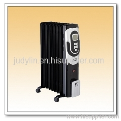 Electric panel oil heater