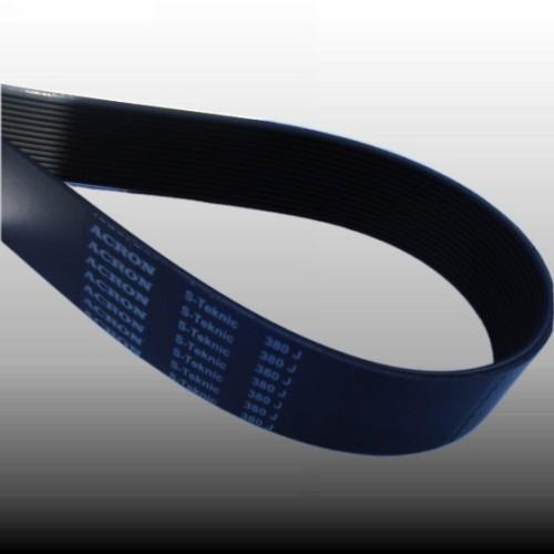 rubber poly-v belt