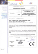 CE Certificate for Blow Molding Machine - A