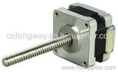 Linear stepping motor