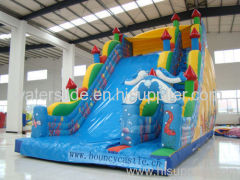 Hot! new big inflatable slider